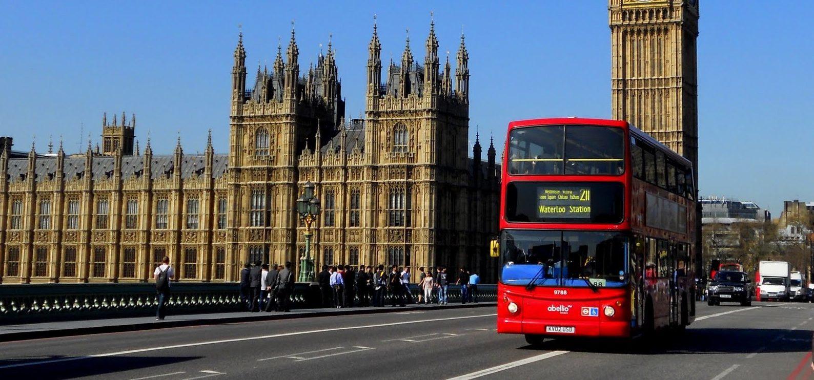 Zájezd do Anglie