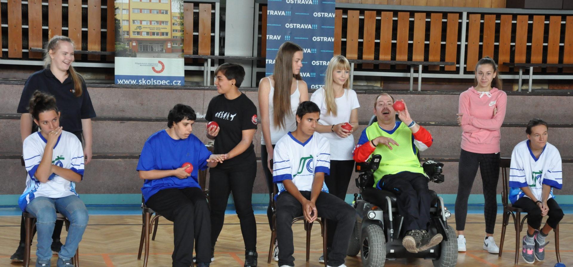 26. ročník Evropských dnů handicapu - Turnaj v boccia