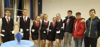 Slavnostní raut na Janáčkové konzervatoři v Ostravě
